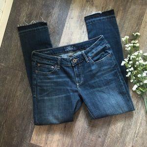 Lucky Brand | Lolita Skinny Jeans Raw Hems